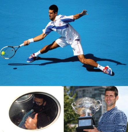 Novak undergoes HBOT